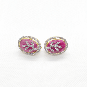 Ruby Tops with Zirconia