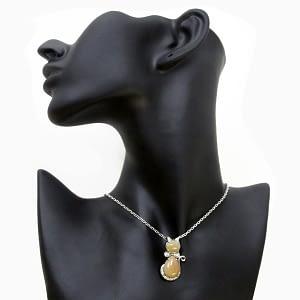 Eithopean Brown Opal Pendant