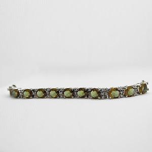 Synthetic Zultanite Bracelet