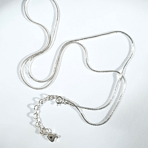 Loose Rope Chain in 925 Silver
