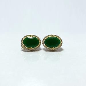Jade tops with zirconia
