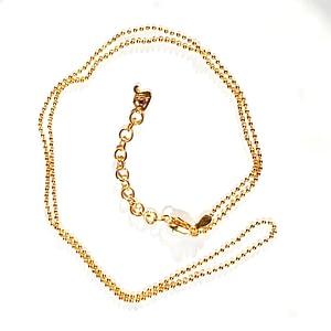 Rolo Chain in Rhodium